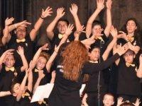 LBO Çocuk Korosu şarkılarla ilkbaharı getirdi