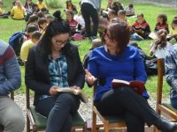 54. Kütüphane Haftası DAÜ'de kitap okuma etkinliği ile devam etti