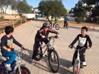 Gönyeli Belediyesi bisiklet kurslarına devam ediyor
