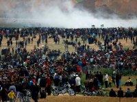 İsrail askerleri Filistinlilere ateş açtı: 15 ölü