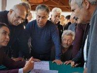 Baybars, Doğancı'da arazi uyuşmazlıkları ile ilgili toplantıya katıldı