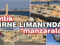 """Antik Girne Limanı'ndan """"manzaralar"""""""