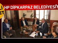Halkın Partisi Dipkarpaz Belediyesini ziyaret etti