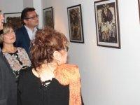 Özden Selenge'nin 23. kişisel sergisi AKM'de açıldı
