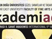 Uluslararası Sanat Akademisi Sergisi Yarın YDÜ'de açılıyor