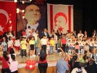 Gazimağusa Belediyesi Atatürk Kreş ve Anaokulu'ndan renkli 23 Nisan kutlaması