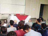 """YDÜ İlahiyat Fakültesi'nde """"Gazalî'nin Felsefi Sistemi"""" Başlıklı Konferans Verildi…"""
