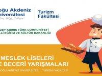 DAÜ TurizmFakültesi, meslekliseleri bilgi beceri yarışmalarınınturizm dalındaki yarışmalarına evsahipliği yapıyor