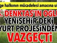 """""""Yenişehir'deki yurt projesinden vaz geçildi"""""""