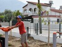 Girne'ye iki yeni çocuk parkı kazandırıldı