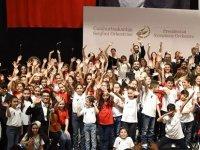 Cumhurbaşkanlığı Senfoni Orkestrası çocuklarla sahne aldı