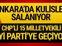 Ankara kulisleri sallandı... CHP'den 15 vekil istifa ediyor