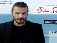 Ünlü oyuncu Günsür hayranları ile LAÜ'de buluşacak