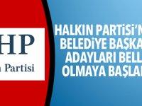 İşte Halkın Partisi'nin Belediye Başkan adayları