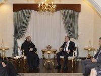 Akıncı, Maronit Başrahibi kabul etti