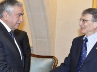 Cumhurbaşkanı Akıncı, Nobel Ödüllü Prof. Sancar'ı kabul etti