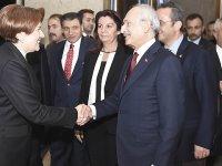 Kritik görüşmenin ardından Akşener ve Kılıçdaroğlu'ndan ortak açıklama