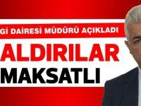 Gelir ve Vergi Dairesi Müdürü Özdemir Kalkanlı açıkladı