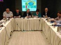 Dev-İş Başkanı Felek Retunsee Yönetim Kurulu toplantısına katıldı