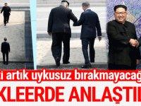 İki Kore'nin liderleri bir arada: Yeni bir tarih başlıyor