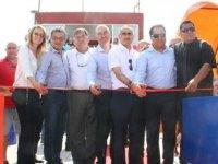 Göçmenköy'ün sentetik çim sahasının açılışı yapıldı