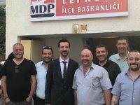 MDP Lefkoşa İlçe Merkezi binası açıldı.