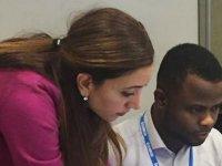 Ecomod'da YDÜ EkonomiBölümü Öğretim Görevlisi Dizem Ertaç-VaroğluKurs Verdi