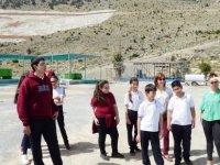 YDK Gözlem ve Araştırma Kulübü Öğrencileri Taşkent Doğa Parkı'nda İncelemelerde Bulundu
