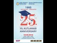 DAÜ 25. yıl mezunları onurlandırma töreni 18 Mayıs'ta yapılıyor