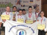 """LAÜ, """"II. Uluslararası Yemek Festivali""""nde altın madalya aldı"""
