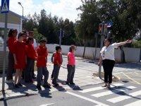 Yeşilyurt Özel Eğitim Merkezi öğrencilerine trafik eğitimi
