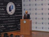 """LAÜ'de """"Doğu Akdeniz'de Enerji Kaynakları ve Kıbrıs"""" konulu konferans gerçekleşti"""