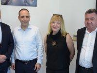 Kuzey Norveçli Belediye Başkanı LTB'yi ziyaret etti