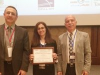 DAÜ doktora öğrencisi IEEE-IES tarafından ödüle layık görüldü