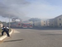 DAÜ'deki yangın kontrol altına alındı