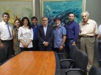 İki toplumlu barış inisiyatifi DİSİ'yi ziyaret etti