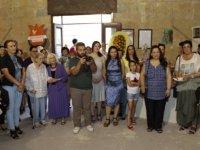 Meral Akıncı Gökkuşağı Seramik Sergisi'nin açılışına katıldı