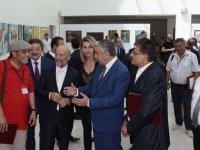 YDÜ türksoy ressamları sergisinin açılışı yapıldı