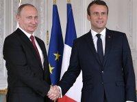 Putin: Rusya ile Fransa arasındaki ilişkiler tüm zorluklara rağmen gelişiyor