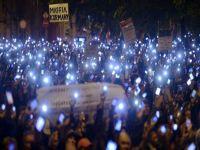 Macaristan'da internet vergisi protestosu