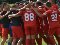 CONIFA Dünya Kupası grup maçında KKTC Milli takımı çeyrek finale çıktı.