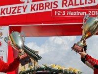 Kuzey Kıbrıs Rallisi tamamlandı... Ralliyi Deniz Fahri- Barış Kalfaoğlu ikilisi kazandı