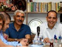 Harmancı Alevi Kültür Merkezi Başkan ve üyeleriyle bir araya geldi