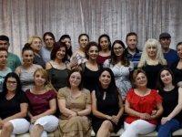 LBO Halk Müziği Korosu Korist ve müzisyenlerine teşekkür belgesi