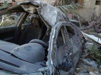 İsrail savaş uçakları Gazze'de 'sivil aracı' vurdu