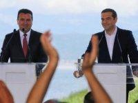 Yunanistan ve Makedonya arasında anlaşma