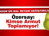 """Özgürgün'ün Mal Beyanı zarfı değişecek mi? Özersay: """"Kimse armut toplamıyor!"""""""