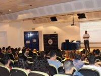"""LAÜ'de """"İş Sağlığı ve Güvenliği Eğitim Semineri"""" düzenlendi"""