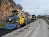 Lefkoşa–Girne anayolu bakım, onarım çalışmalarının ikinci etabı başlıyor