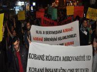 Mağusa'da Kobani eylemi